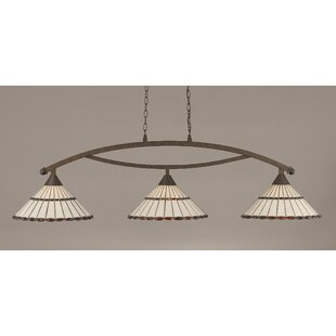 Astoria Grand Austinburg Tiffany 3-Light Billiard Light