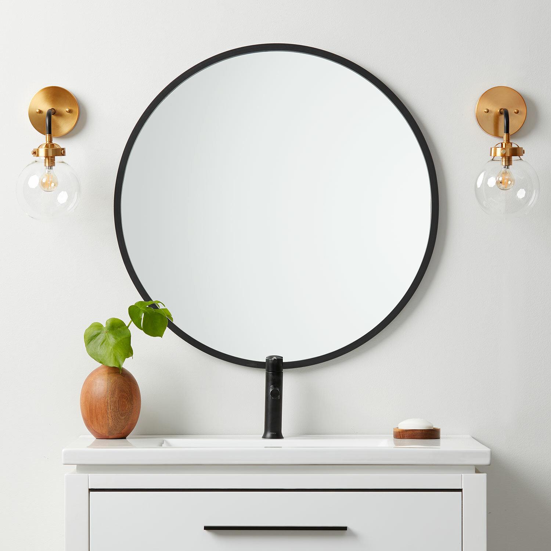 Ebern Designs Clique Contemporary Accent Mirror Reviews Wayfair