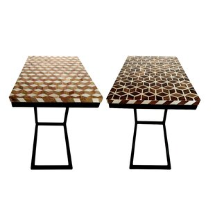 Bargain Grill 2 Piece Mosaic Resin End Table Set By Wrought Studio
