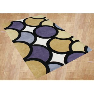 Hand-Woven Yellow Area Rug By The Conestoga Trading Co.