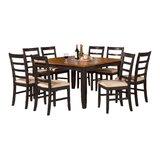 Teressa 9 Piece Extendable Dining Set by Alcott Hill®