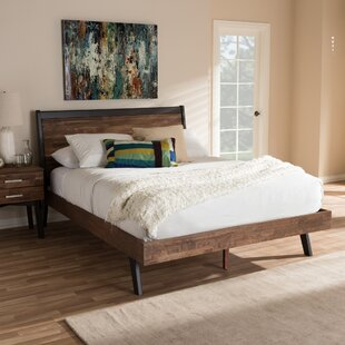Compare prices Tion Queen Platform Bed by Union Rustic Reviews (2019) & Buyer's Guide