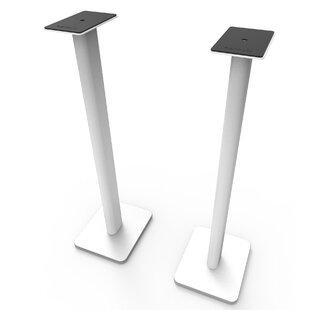 Bookshelf Floor 32 Fixed Height Speaker Stand Set of 2