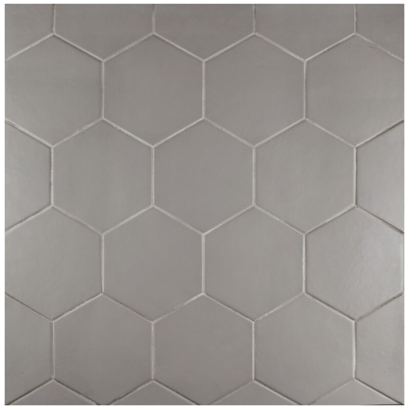 Glazed Porcelain Hexagon Tile