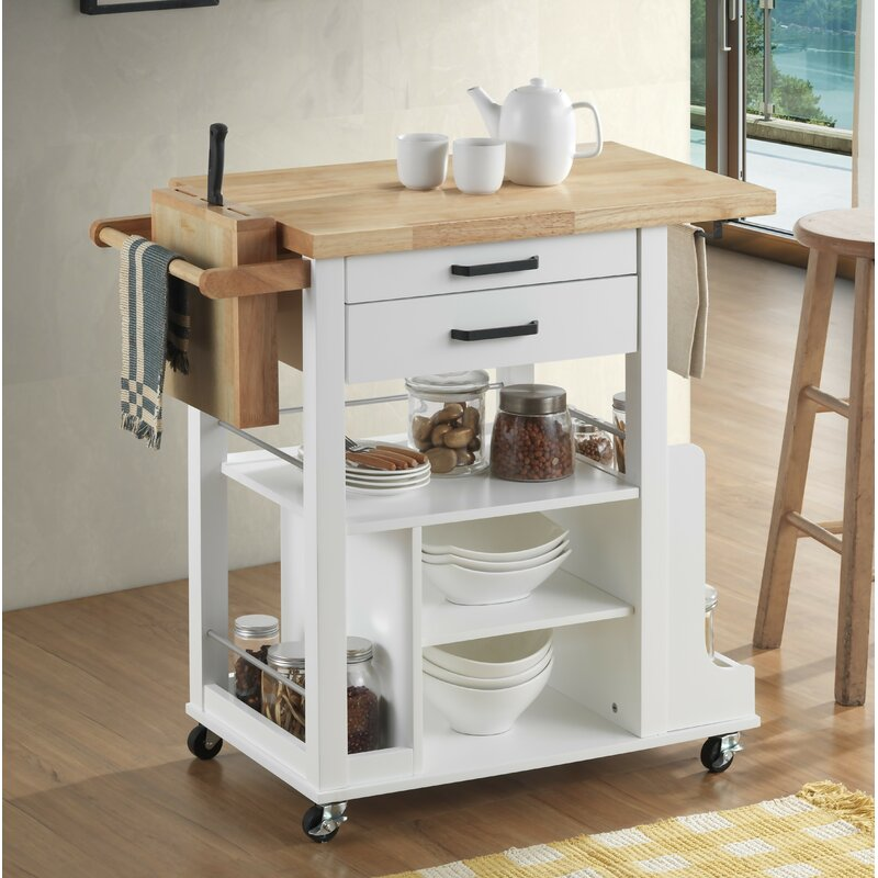 Rosecliff Heights Septimus Kitchen Cart