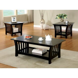 Heslin 3 Piece Coffee Table Set