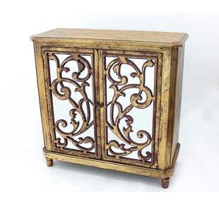 Leamon Wooden 2 Door Accent Cabinet by Astoria Grand