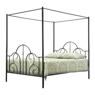 Cornwall Queen Canopy Bed By Fleur De Lis Living