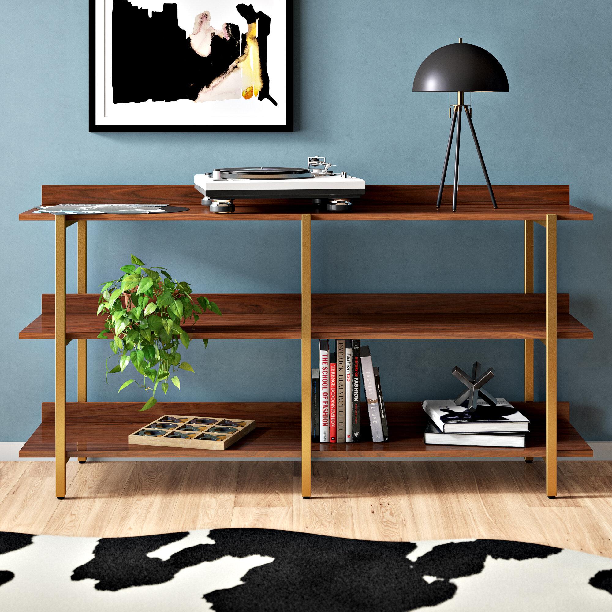 Rexdale Etagere Bookcase