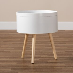 Best Reviews Audie Mid-Century Modern Wood Nightstand by Wrought Studio