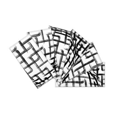 upscale designs by ema custom 3 x 6 beveled glass subway tile in Weather Windows 8 Live Tiles crystal 3 x 6 beveled glass subway tile in black