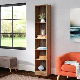 Matheny Tall 5 Shelf Standard Bookcase