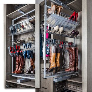 Affordable Rotating Shoe Rack By Hardware Resources