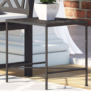 Hanselman Metal Side Table by Alcott Hill
