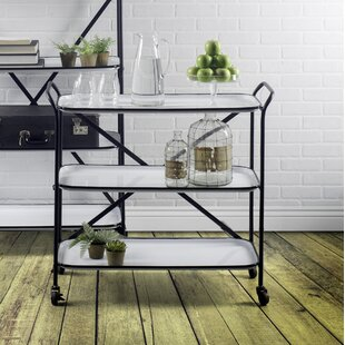 Gracie Oaks Bayman Bar Cart