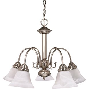 Danna 5-Light Shaded Chandelier by Charlton Home
