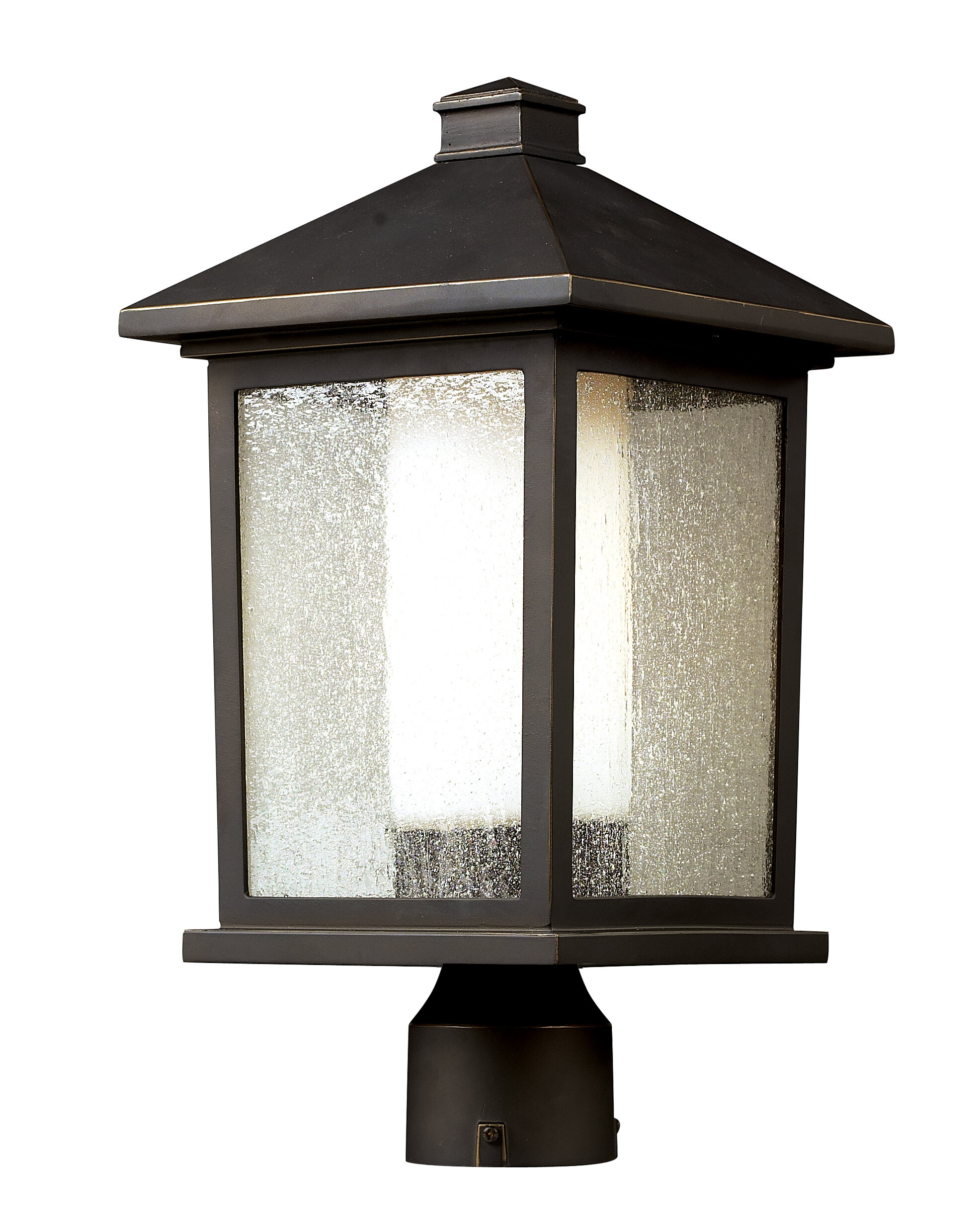 Winston Porter Savala Outdoor 1 Light Lantern Head Wayfair