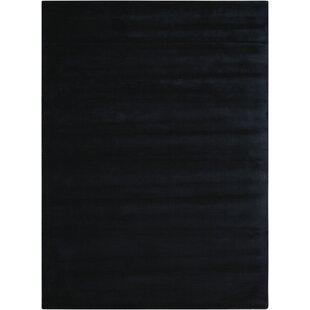 Lunar Hand-Loomed Obsidian Area Rug by Calvin Klein Home