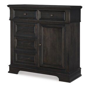 Earley 5 Drawer Combo Dresser