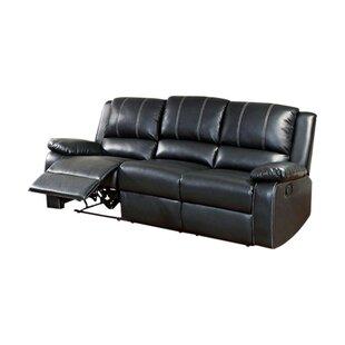 Gardea Leatherette Reclining Sofa