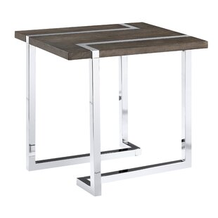 Compare prices Aubuchon End Table By Wade Logan