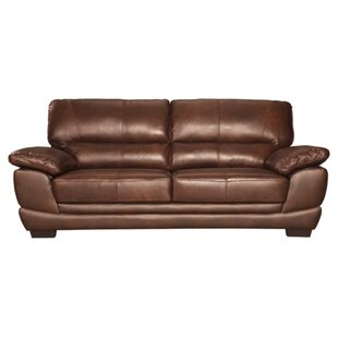 Phelan Leather Sofa by Red..
