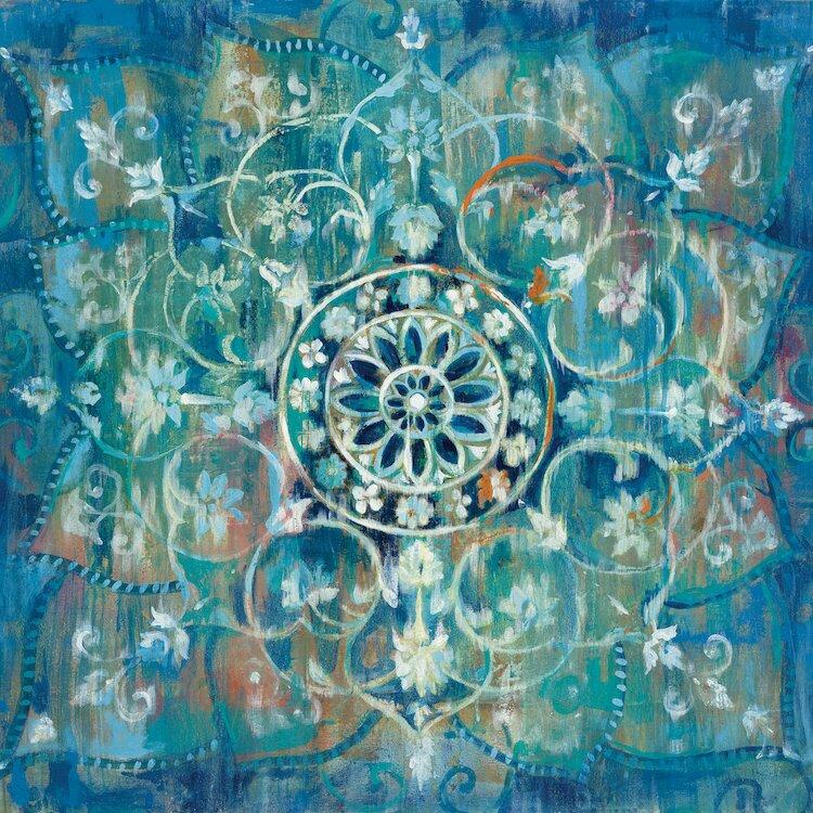 Bungalow Rose Mandala Iii Painting Print On Wrapped Canvas Reviews Wayfair