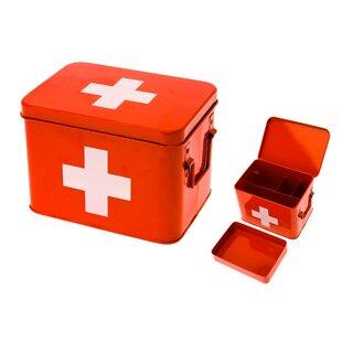 Medicine Storage Metal Box By Present Time