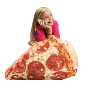 Pizza Inflatable Bean Bag Chair by Wow Works LLC