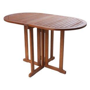 Baltimore Folding Wooden Dining Table by Lynton Garden