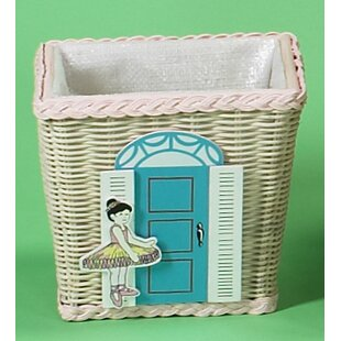 Gift Mark Wicker Waste Basket