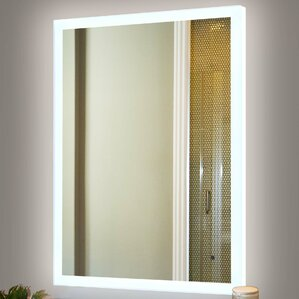 Aluminum Frame Electric Mirror