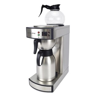 10-Cup Dual Brew Commercial Thermal Decanter Coffee Maker