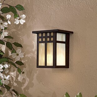 Great Outdoors by Minka Scottsdale II 1-Light Outdoor Flush Mount