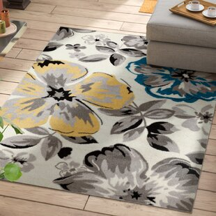 Reviews Regner Cream/Gray Area Rug By Andover Mills