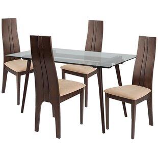 Torin 5 Piece Dining Set by Ebern Designs