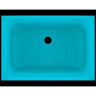 Polaris Sinks Glass Rectangular Undermoun..
