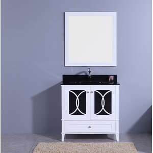 Fernwood 36 Single Bathroom Vanity Set with Mirror