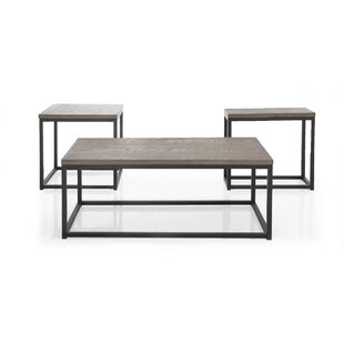 Bartow 3 Piece Coffee Table Set Brayden Studio