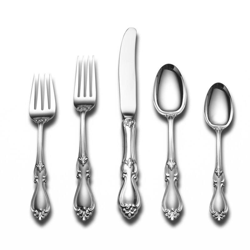 Sterling Silver Flatware Towle Queen Elizabeth I Regular Fork