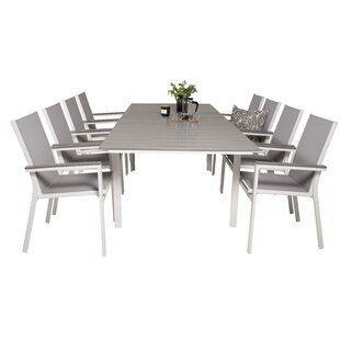 Faiyaz 8 Seater Dining Set By Sol 72 Outdoor