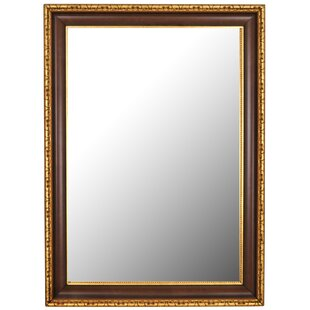 Antique Gold Framed Accent Wall Mirror