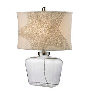 Dimas Glass Bottle LED 26 Table Lamp