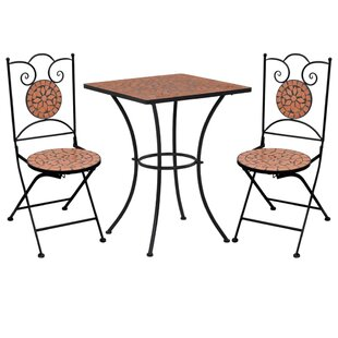 Raffaela 2 Seater Bistro Set By World Menagerie