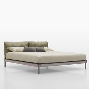 Upholstered Platform Bed by Argo Furniture