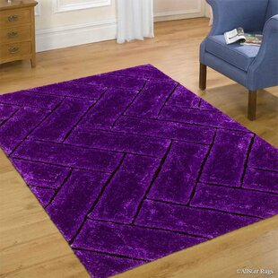 Compare & Buy Hand-Tufted Purple Area Rug By AllStar Rugs