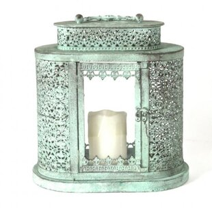 Best Deals Traditional Curved Metal Lantern By Bungalow Rose