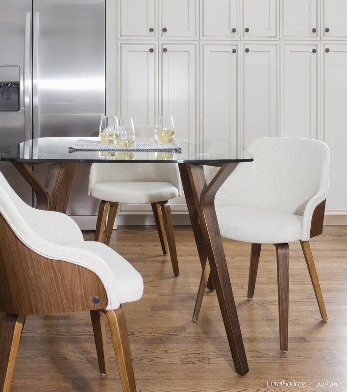 mid century modern kitchen table. Thornton Mid-Century Modern Dining Table Mid Century Kitchen G