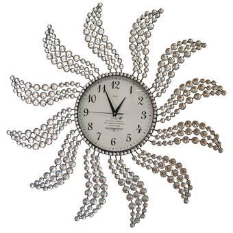 George Oliver Manus Wall Clock Reviews Wayfair