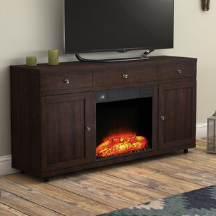 Chimayo TV Stand for TVs up to 60 with Fireplace by Loon Peak
